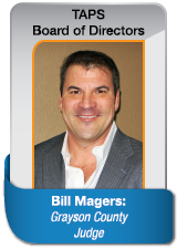 Bill Magers Grayson County Judge