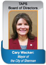 Cary Wacker Mayor for City of Sherman