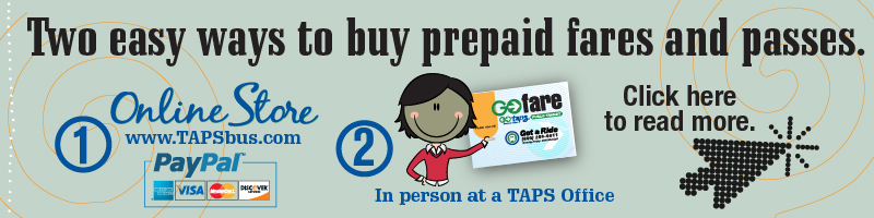 Online Payments for Prepaid Fares and Passes a Success