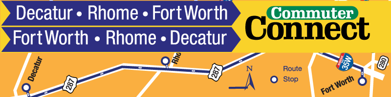 Decatur to Fort Worth Express Expands Service Adding AM-PM Trips
