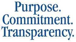 Purpose.Commitment.Transparency.