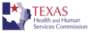 Click to visit the Texas Health & Human Services website.